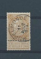 N°62 OBLITERE RUPELMONDE - 1893-1900 Fine Barbe