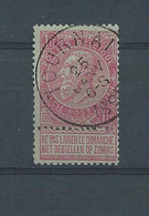N°64 OBLITERE TOURNAI - 1893-1900 Fine Barbe