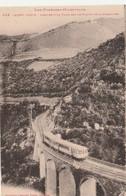 N°5221 R -cpa Mont Louis -arrivée D'un Train Sur Le Viaduc De La Cabanasse- - Structures