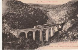 N°5222 R -cpa Mont Louis -le Viaduc De La Cabanasse- - Structures