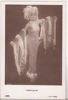 Germany Old Uncirculated Postcard - Movie Stars - Mistinguett - Acteurs