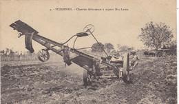 VIET-NAM. SUZANNAH . CPA. MACHINISME AGRICOLE. CHARRUE DEFONCEUSE A VAPEUR MAC LAREN - Agricultura