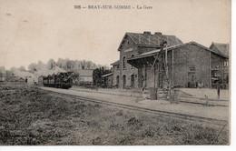 BRAY SUR SOMME - 80 - LA GARE - Bray Sur Somme