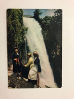 GREECE - EDESSA - THE WATER FALL -  1960  - POSTCARD - Grecia