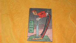 CARTE POSTALE ANCIENNE CIRCULEE DE 1904.../ NO PAS ENCOR...ILLUSTRATEUR MIKA-DO..CACHET + TIMBRE - Otros Ilustradores
