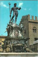 Bologna (Emilia R.) Fontana Del Nettuno, The Neptune Fountain, La Fontaine Du Neptune - Bologna
