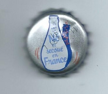 V 4 - CAPSULE ORANGINA - Né Secoué En France - Soda