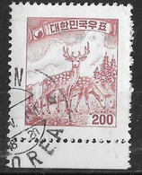 YT 213a - Cerf (o) - Corée Du Sud