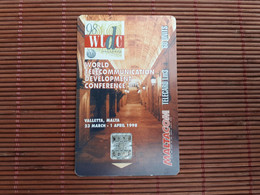 Phonecard Malta Used Low Issue Rare - Malta