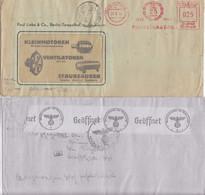 BRIEF REICH. 21 5 41. 25 JAHRE PAUL LINKE BERLIN. KLEINMOTOREN, VENTILATOREN TO PARIS. ZENSUR - Deutschland
