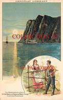 NORGE ☺♦♦ LE CAP NORD Et Le SOLEIL De MINUIT En NORVEGE + COSTUME NORVEGIEN < PUBLICITE CHOCOLAT LOMBART - Norwegen