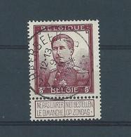 N°122 OBLITERE SCHAERBEEK - 1912 Pellens