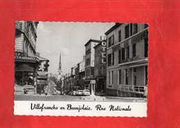 G2709 - VILLEFRANCHE En BEAUJOLOAIS - D69 - Rue Nationale - Villefranche-sur-Saone