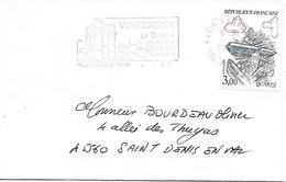 2430 - MARCASSITE, Sur Lettre (petit Format) Au 6-1-1987 VINCENNES Ppal - Marcophilie (Lettres)