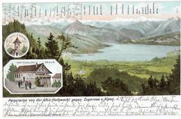 ALBIS-HOCHWACHT: 3-Bild-AK 1903 - ZH Zurich