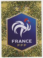 Autocollant Panini Intermarché Football - Brillante N° 1, Fédération Française De Football - Panini
