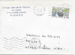 2658 - PONT-CANAL DE BRIARE, Sur Lettre Au 13-3-1991 - Marcophilie (Lettres)
