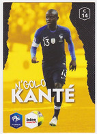 Carte Panini Intermarché Football - N'Golo Kanté, N° 14 - Panini