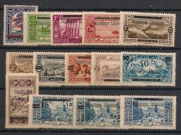 Grand Liban - 1927 - N°Yv. 84 à 97 - Série Complète - Neuf Luxe ** / MNH / Postfrisch - Great Lebanon (1924-1945)