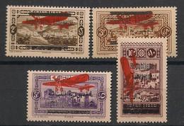 Grand Liban - 1928 - Poste Aérienne PA N°Yv. 25 à 28 - Série Complète - Neuf Luxe ** / MNH / Postfrisch - Great Lebanon (1924-1945)