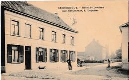 Campenhout. - Hôtel De Londres // Café, Restaurant, L. Deputter - Kampenhout