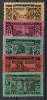 Grand Liban - 1928 - Taxe TT N°Yv. 21 à 25 - Série Complète - Neuf Luxe ** / MNH / Postfrisch - Great Lebanon (1924-1945)