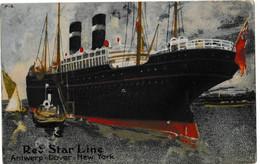 Red Star Line - Antwerp - Dover - New York - Handel