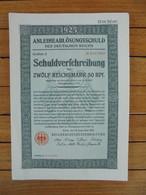 ALLEMAGNE - BERLIN 1925 - TITRE DE 12,50 RPF - DETAIL, VOIR SCAN - Unclassified