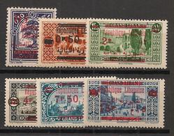 Grand Liban - 1928-29 - N°Yv. 116 à 121 - Série Complète - Neuf Luxe ** / MNH / Postfrisch - Great Lebanon (1924-1945)