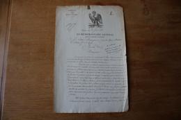 1 Er Empire 1810  Le Munitionnaire Général Des Vivres Viande - Documenti Storici