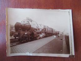 Train, Locomotive N°3.1250 / 110 à Quai - Chemin De Fer Du Nord - Photographie - Eisenbahnen
