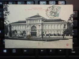 Cpa Cochinchine SAIGON Hôtel Des Postes. 1912 - Vietnam