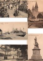 LOT DE 2500 CARTES POSTALES BELGIQUE (1900/1950) / LOT OF 2500 POSTCARDS BELGIUM (1900/1950). - 500 Cartoline Min.