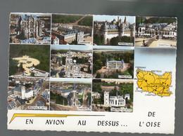 CP (60) En Avion Au Dessus De ... L'Oise - Multi-vues - Unclassified