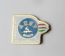 Pin's Le Sport Dans La Convivialité ACSV Bron - Mel/ - Unclassified