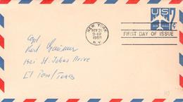 USA - STATIONARY ENVELOPE AIR 7c 1958 Sc #UC23 / AS240 - 1941-60