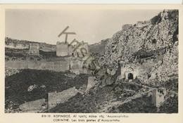 Corinthe - Les Trois Portes D'Acrocorinthe  [Z34-1.426 - Grecia
