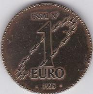 France - Pièce Essai N° 1 Euro 1995 - Probedrucke