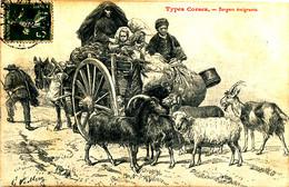 A S 63 /   C P A  - CORSE          ( 20)   TYPES CORSES BERGERS EMIGRANTS - Sonstige Gemeinden