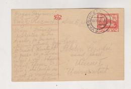 CZECHOSLOVAKIA 1919 VRSOVICE Postal Stationery To Austria - Czechoslovakia