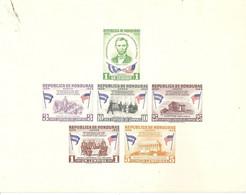 Honduras   Nº Yvert   BF-4 (MNH/**) (manchado) - Honduras