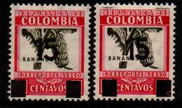 A713D -KOLUMBIEN - 1934. MNH - MI#: 396 - OVERPRINTED VARIETY . - Colombia