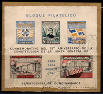 A714F -KOLUMBIEN - 1944. USED - MI#: BLOCK 1 - - Colombia
