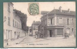 CROSNE-rue Simon-patisserie Boulangerie-charette-2 Scans - Crosnes (Crosne)
