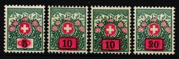 38-41 Einwandfrei Postfrisch/**/MNH - Portomarken
