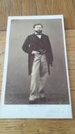 Photo CDV PESME PHOTO Identification Au Dos 1850 - Antiche (ante 1900)