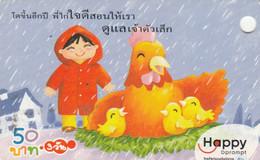 PREPAID PHONE CARD THAINLANDIA (PY2705 - Tailandia