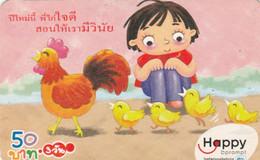 PREPAID PHONE CARD THAINLANDIA (PY2715 - Tailandia