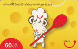 PREPAID PHONE CARD THAINLANDIA (PY2732 - Tailandia