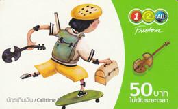 PREPAID PHONE CARD THAINLANDIA (PY2736 - Tailandia